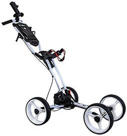 GolferPal EasyPal Golf Push Cart w/Electric-Auto-Folding/Unf