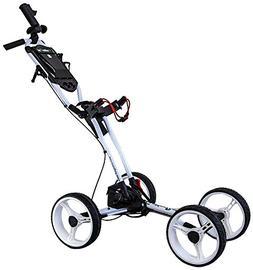 GolferPal EasyPal Golf Push Cart w/Electric-Auto-Folding/Unf