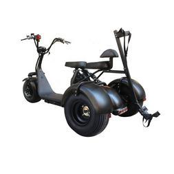 Black Golf Club Carts Electric Harley Chopper Golf Trike Thr