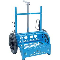 Dynamic Discs EZ Cart by ZÜCA – With Expanded Capacity to