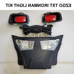 ezgo txt golf cart full led bumper