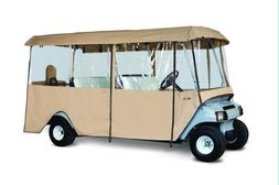 Classic Accessories Fairway Deluxe 4-Sided 6-Person Golf Car