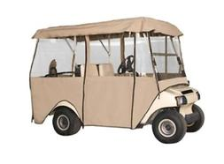 Fairway Deluxe 4 Sided Golf Car Enclosure, 4 Person Car