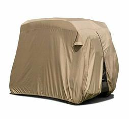 Classic Accessories Fairway Golf Cart Easy-On Cover, 4-Perso