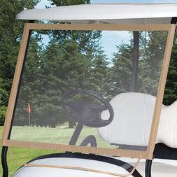 Classic Accessories Fairway Portable Golf Cart Windshield, W