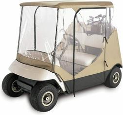 Fairway Travel Golf Cart Rain Cover Enclosure 2 Passenger 4-