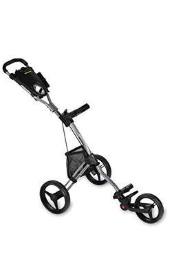 Bag Boy Golf- 2018 Express DLX Pro Push Cart Silver/Black Ac
