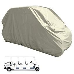 Golf Cart 8 Passengers Storage Cover fits EZGO, Club Car, Ch