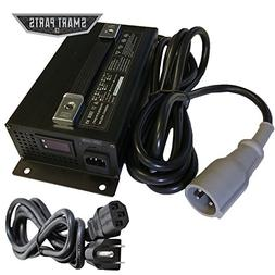 48V 15 Amp Golf Cart Battery Charger Club Car 3 Pin Connecto