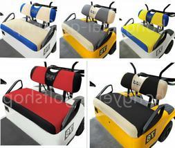 10L0L Golf Cart Bench Seat Cover Set Washable Mesh Fit EZGO