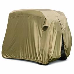 Club Car Golf Cart Cover, Tan, 4-Person