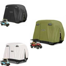 Golf Cart Covers Fit 4 Passenger YAMAHA EZGO Club Car Golf C