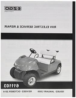 Golf Cart Accessories EZGO 611103 2009 Current Service and R