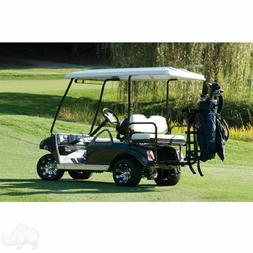 GOLF CART GOLF BAG ATTACHMENT FOR CARTS WITH REAR SEATS & GR