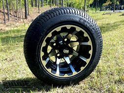 "3G Golf Cart 10"" Huntsman Wheels + Cruze 205/50-10 DOT Low P"