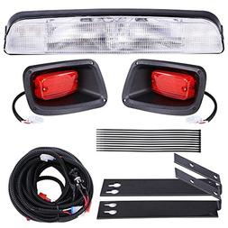 AW Golf Cart LED Light Kit ABS Plastic Compatible with EZGO