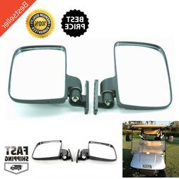 golf cart side mirrors fits club car