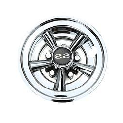 10L0L Golf Cart SS Wheel Covers Hub Caps for YAMAHA/Club CAR