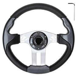 10L0L Golf Cart Steering Wheel, Generic of Most Golf cart EZ