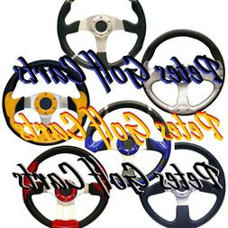 Golf Cart Steering Wheel Many Colors EZGO Club Car Gem Polar