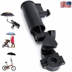 Golf Cart Umbrella Holder Adjustable Angle Stroller Attachme