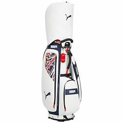 PUMA Golf Men's Cart Caddy Bag Union Jack 9.5 x 47 inch 3.3k