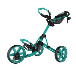 Clicgear Golf Model 4.0 Push Cart Trolley Soft Teal 3-Wheel