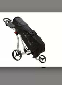 Golf Trolley Big Max Rain Safe Cart Bag Cover Zipped Package