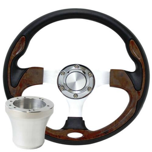 """12.5"""" Golf Cart Wheel Adapter Golf Car"""
