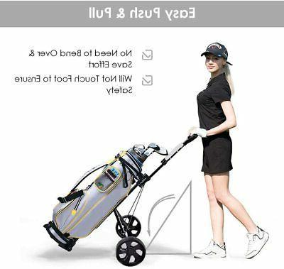 2 Wheel Golf Cart Lightweight Easy Carry