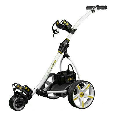 2020 White Bat-Caddy X3R SLA Remote Control Golf Cart+FREE A