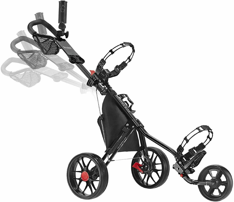 Caddytek Wheel Golf Push V3 Black IN