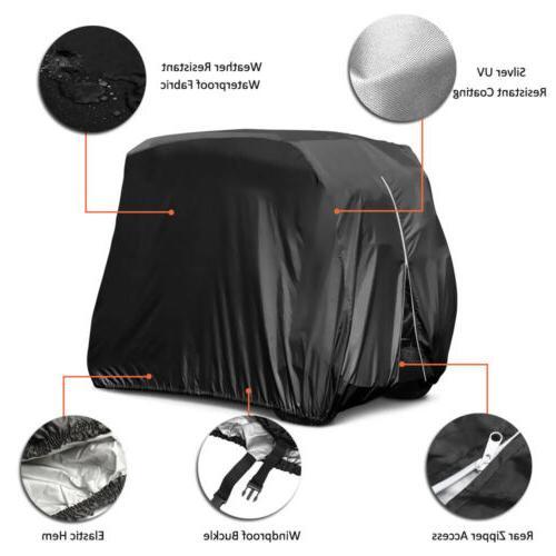 4 Passengers Cover Waterproof For Club Car EZ Go
