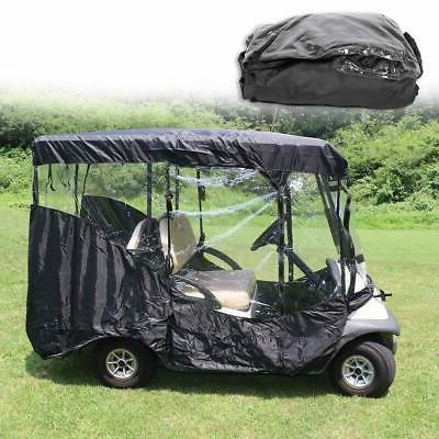2/4 Passengers Club Car Golfs Cart Enclosure Storage Rain Co