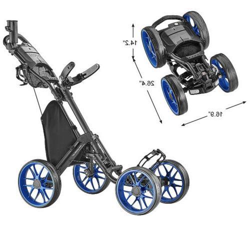 4 wheel golf push cart caddycruiser one