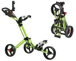 CaddyTek CaddyLite One Click Folding Golf Push Cart