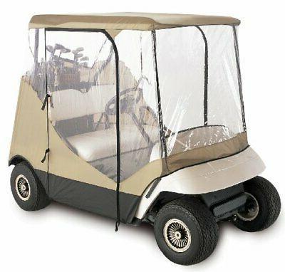 classic accessories fairway golf cart enclosure travel