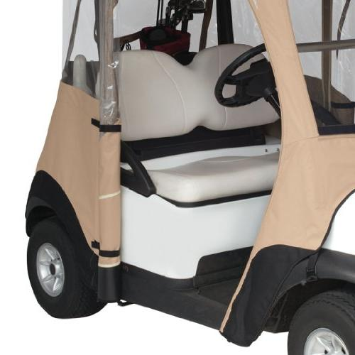 Classic Accessories Deluxe 4-Sided Cart Enclosure For Tan