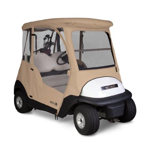 Classic Fairway 4-Sided 2-Person Golf Tan