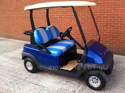 Club Car Golf Cart Set 2 STRIPE STAPLE