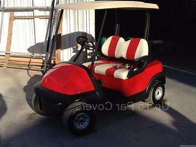 Club Cart Custom Seat Cover Set -