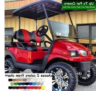 club car precedent golf cart custom seat