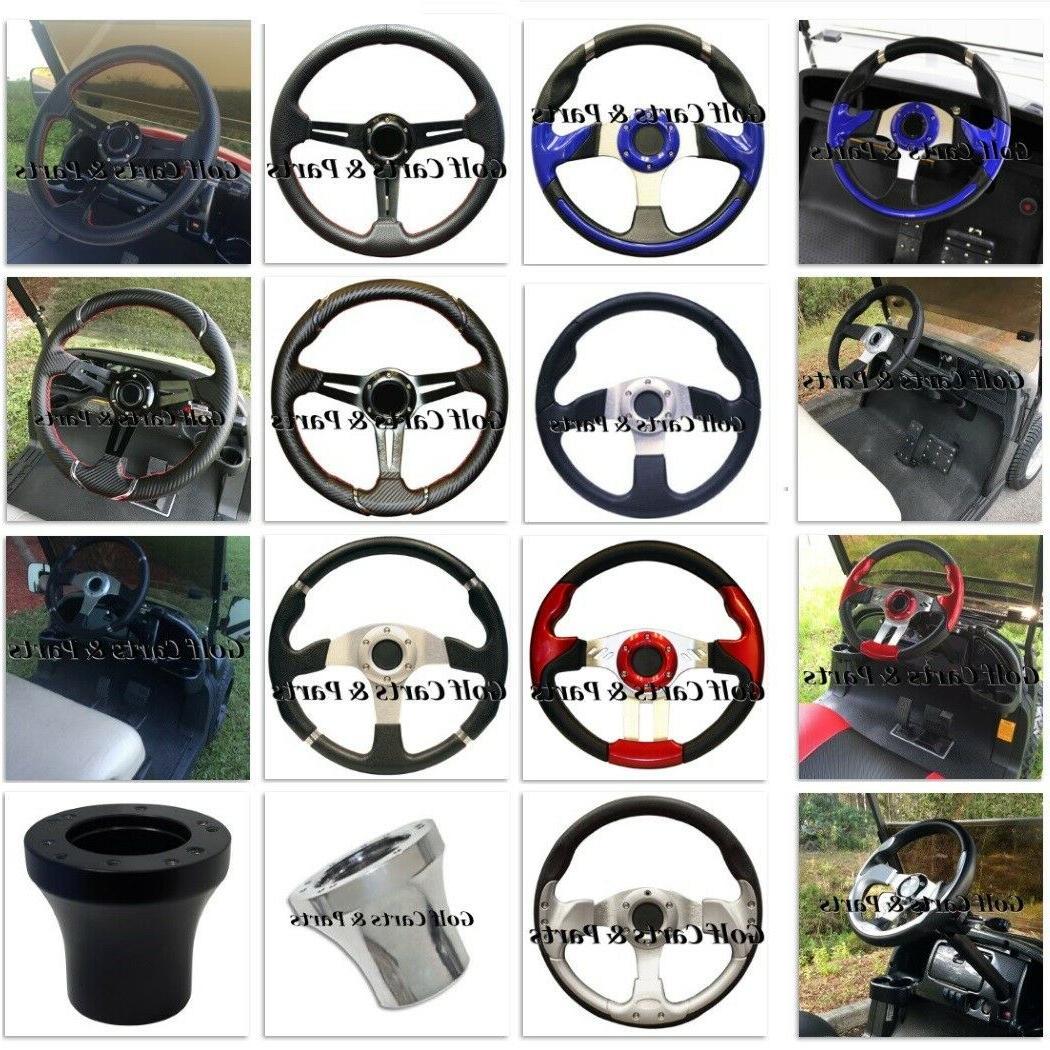golf cart steering wheel w adapter club