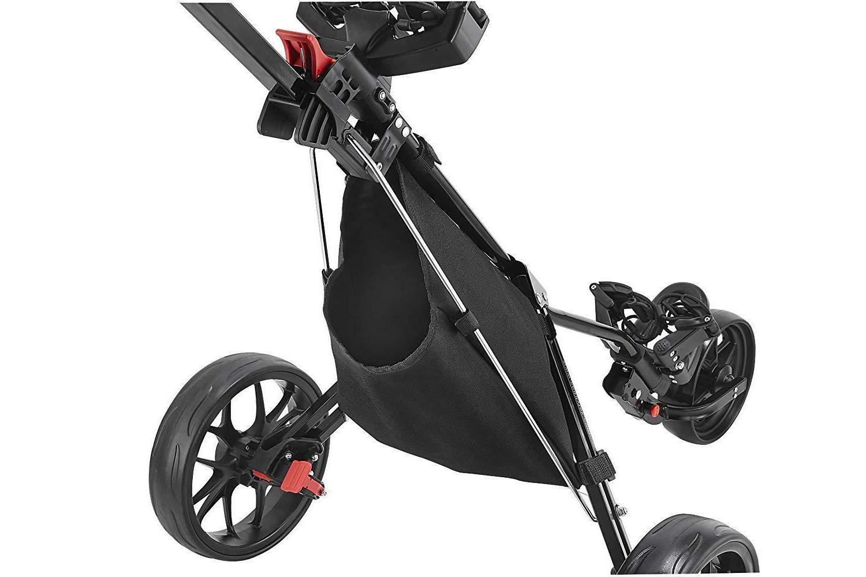 CaddyTek Deluxe 3 Wheel Golf 3, 11.5