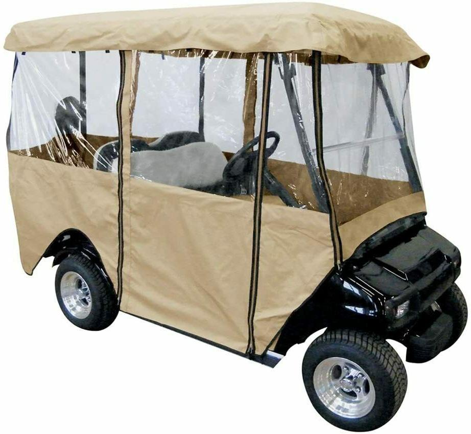 deluxe 4 person golf cart cover r