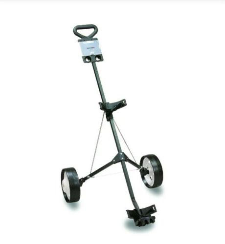 deluxe golf push pull cart new in