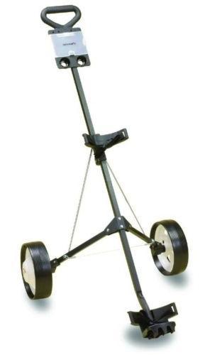 deluxe steel push cart golfing brand new