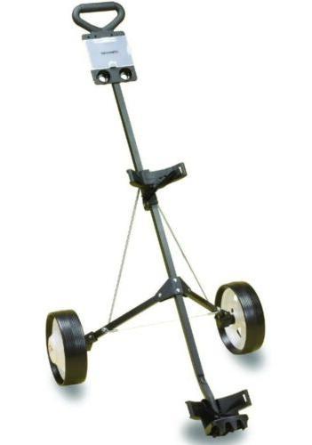 deluxe steel golf cart brand new