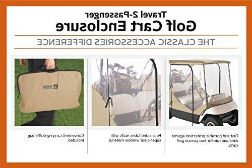 Classic 72052 Fairway Travel 4-Sided Cart Enclosure