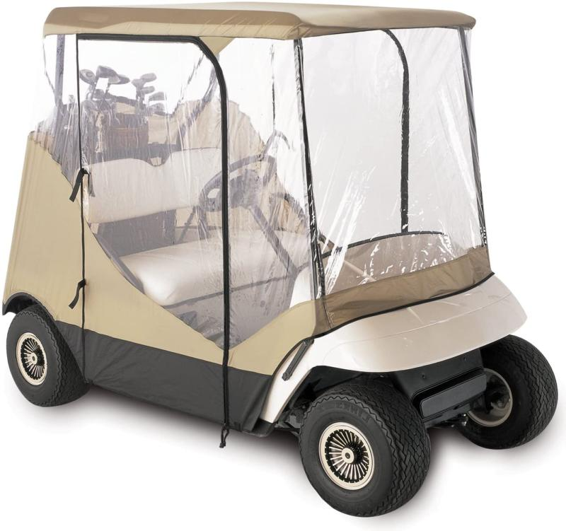 Classic Accessories Fairway Golf Cart Enclosure Travel 4-Sid
